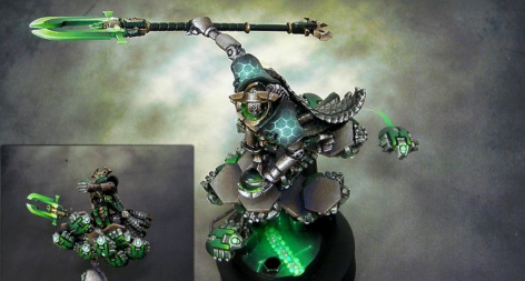 Ghost Walking Softly - Necron Army of One