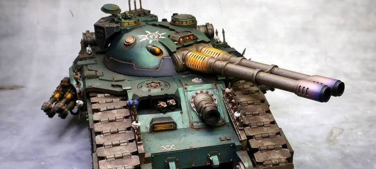 Alpharius is in THIS Tank! - Army of One