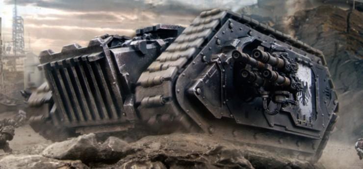 Spartan Tank - walpaper