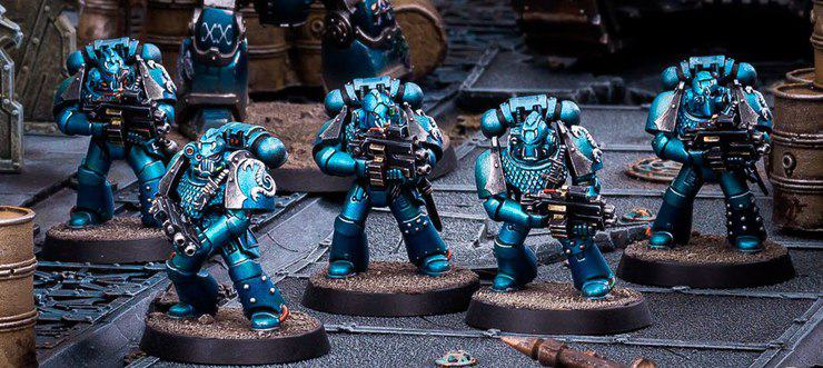 Not much uproar over Alpha Legion and Night Lords paint scheme ...