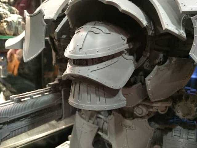 mars warlord titan head