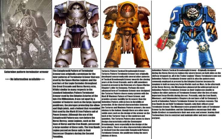 know your space marine terminators - pic of the day - spikey bits