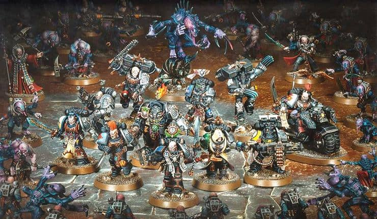 deathwatch minis all