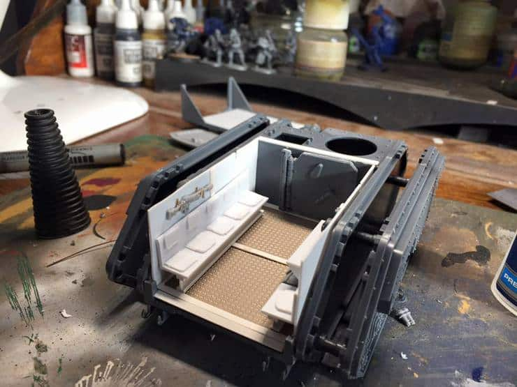 Custom Chimera Interior Conversion Corner Spikey Bits