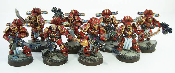 Thousand Sons Warrior Squad1