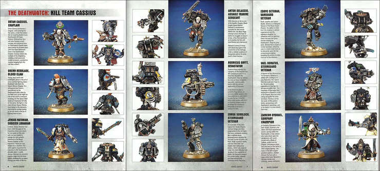 Deathwatch New Kill Team Cassius Pics Revealed Spikey
