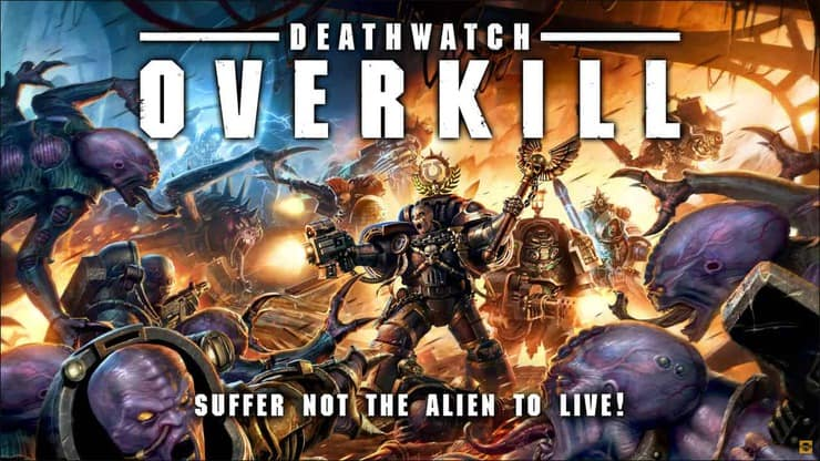 Deathwatch new kill team cassius pics revealed spikey bits deathwatch overkill box illustration biocorpaavc Image collections
