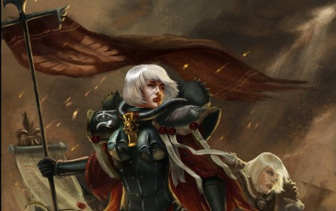 sisters of battle nuns banner 1