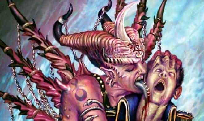 daemonette close up chaos demon hor wal