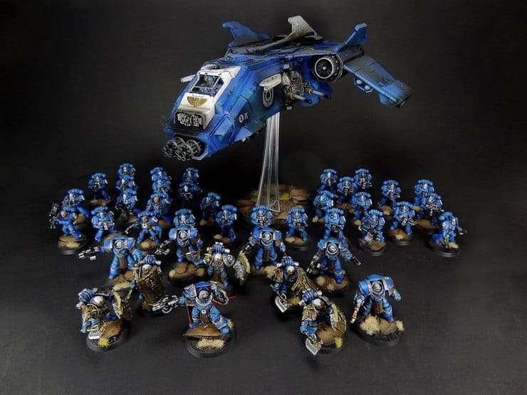 Ultramarines Army Don't Buzz ...