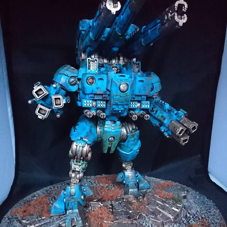 Orks Aren't the Only Ones That Dakka - Tau Army Of One