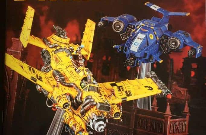 new 40k flyers wd118