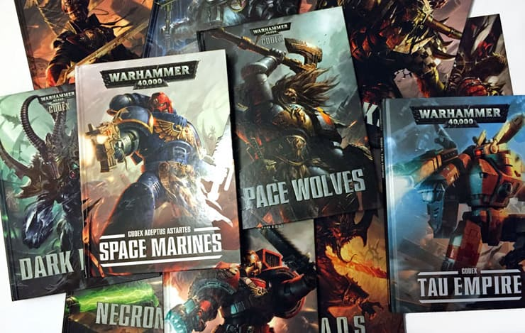 Next 40k Codex Rumor SPOTTED! - Spikey Bits