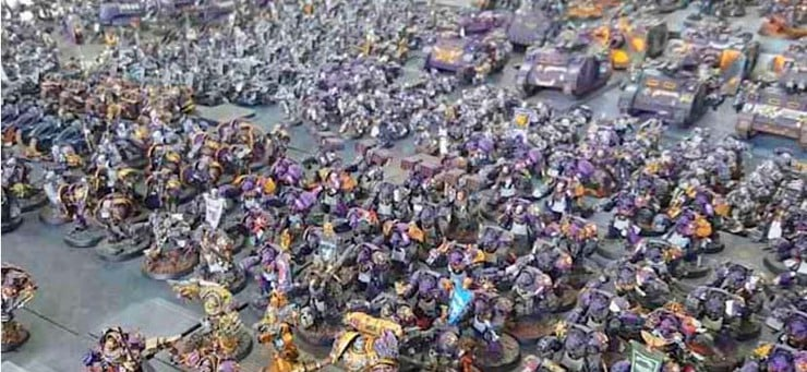 30,000 points of warhammer 40k 1
