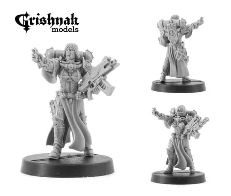 Grishnak's New Plastic Sister Models - WE Update - Spikey Bits