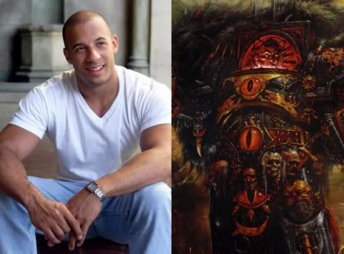 VinDiesel Horus primarch