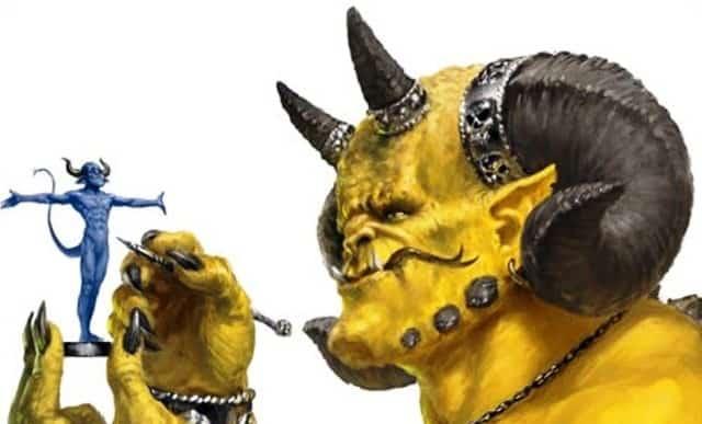 golden demon painting