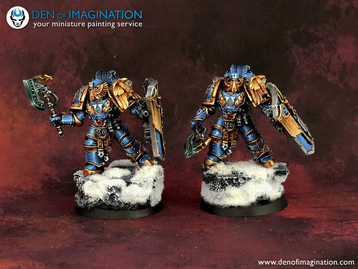 Ultramarines Army Marneus Calgar Would B...