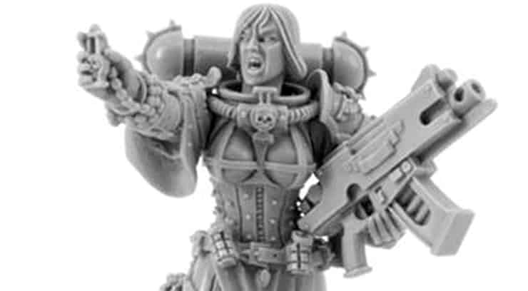 NEW BITS- You Want Plastic Sisters of Battle? - Spikey Bits