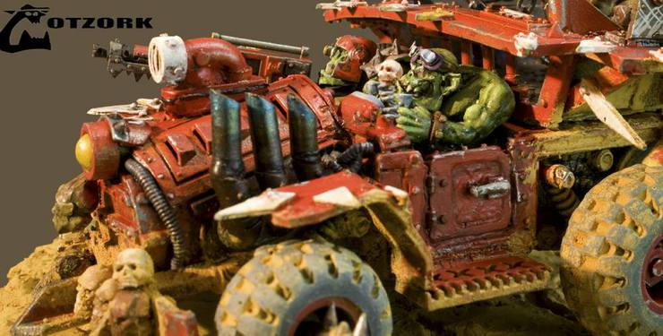 Dude, check out my Sweet Ork Hotrod!