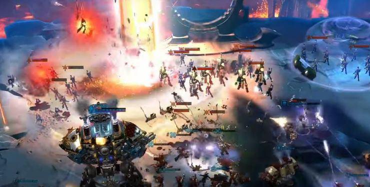 dawn of war e3 gameplay interview