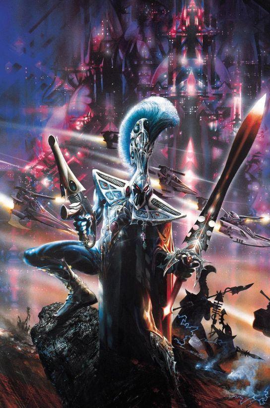 Eldar Warhammer Cover