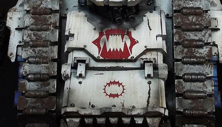 world eaters spartan tank marine