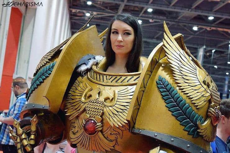 Giulietta Zawadzki empress emperor of mankind cosplay 4