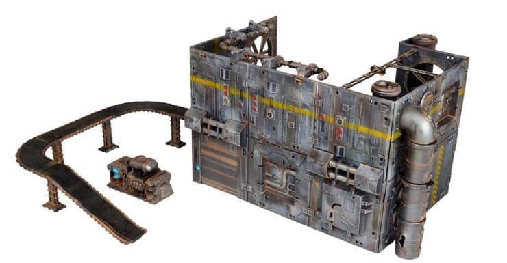 NEW BITS - Industrial Line of Terrain From Mantic Games - Spikey Bits
