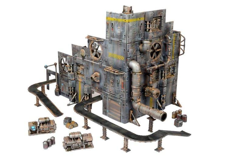 NEW BITS Industrial Line Of Terrain From Mantic Games