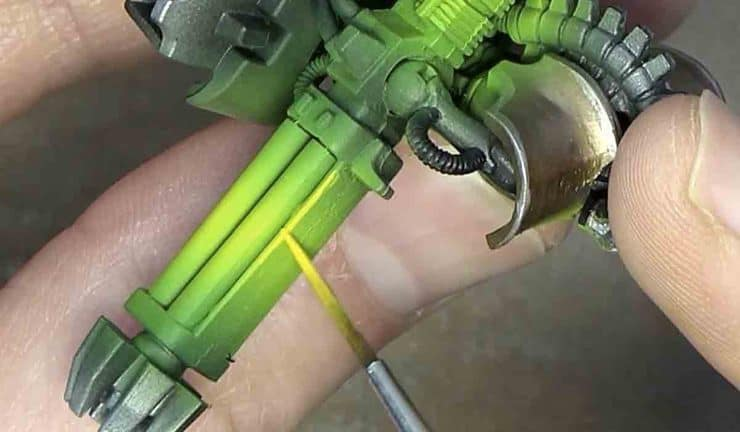 Green OSL airbrush tutorial