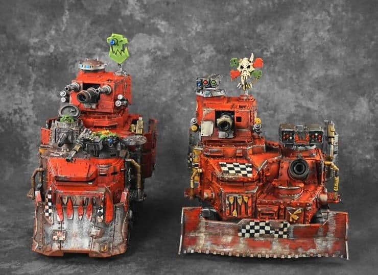 Red Ork Plow