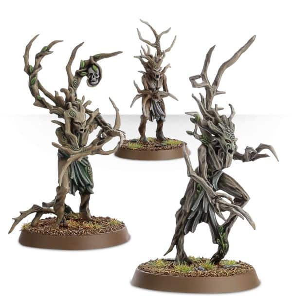Sylvaneth Painting Tutorial Bark Made Easy Spikey Bits