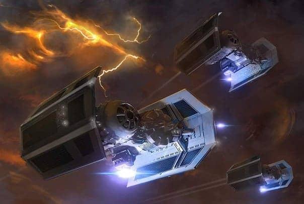 X-Wing: Brobots vs. NE... Real Scimitar