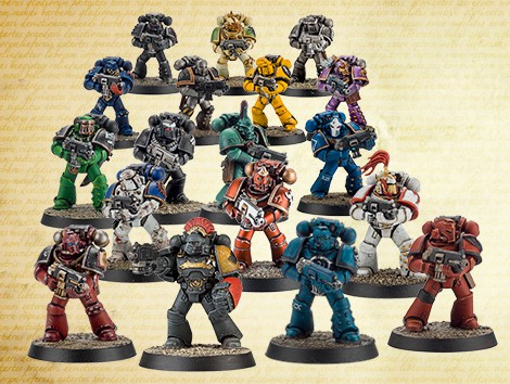 New Forge World - Horus Heresy Tactical Squads Incoming! - Spikey Bits