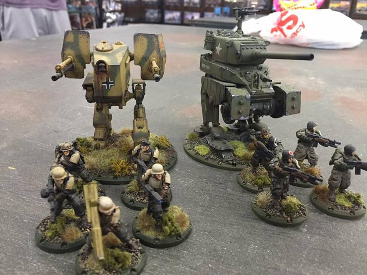 Die tanks Führer, they grew legs! Conversion Corner
