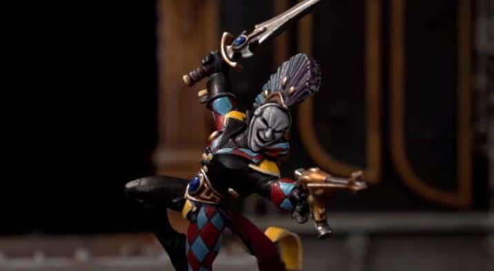 how to paint eldar harlequin
