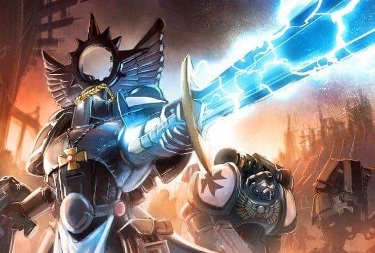 lightning effect power weapons black templars