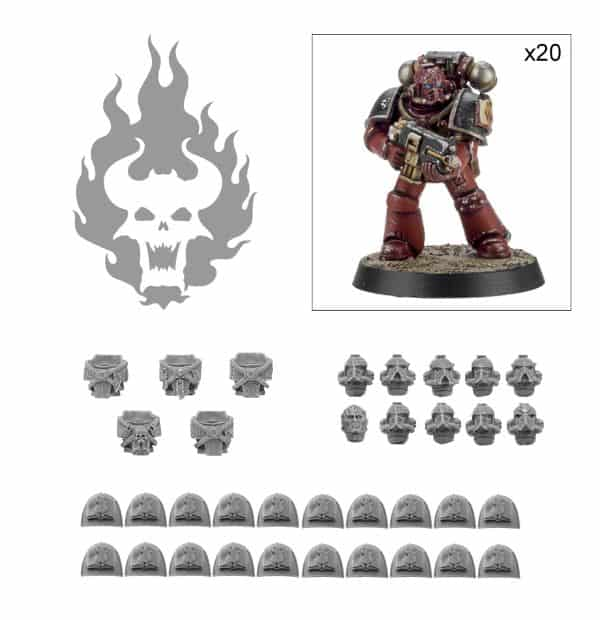 Word Bearers tactical squad