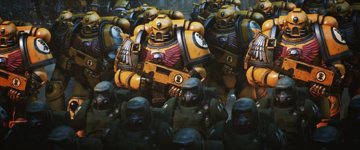Lord Inquisitor Prologue Space Marines