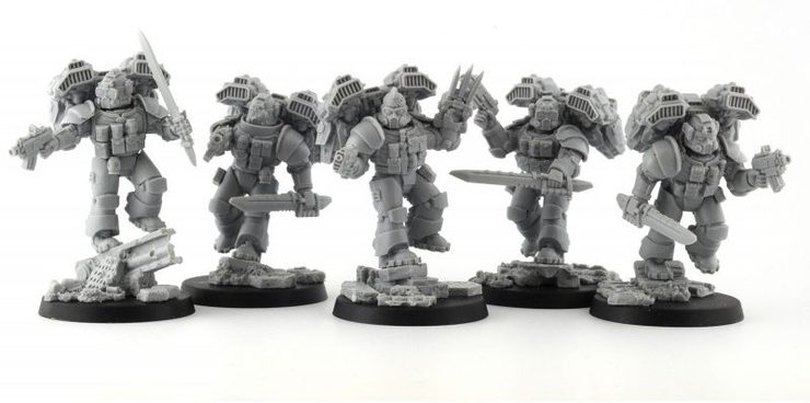 anvil industry unleashes the black ops strike team spikey bits