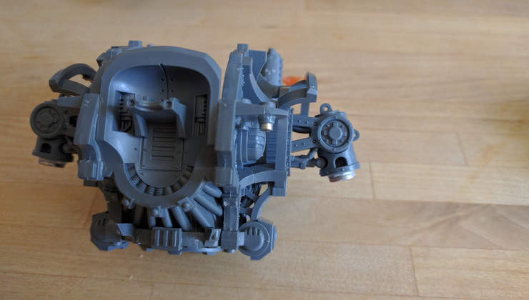 How to Magnetize Your New Imperial Knight - Spikey Bits