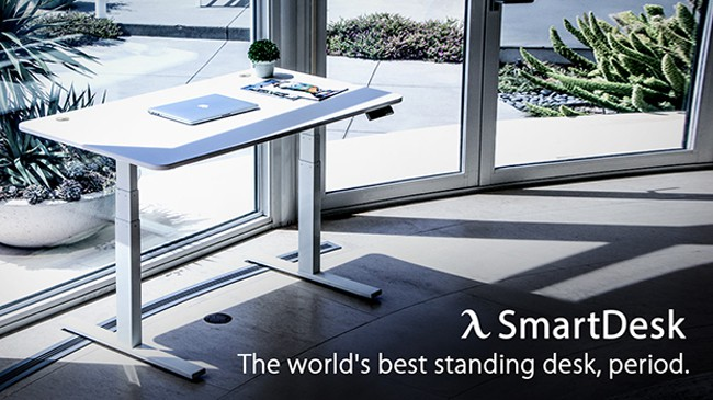 smart desk sit to stand autonomous