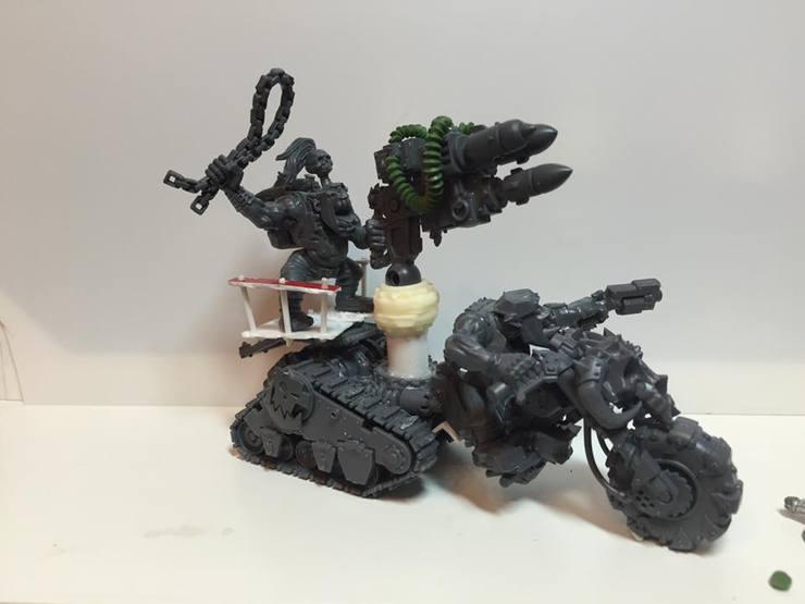 Ork Rocket Trakker!