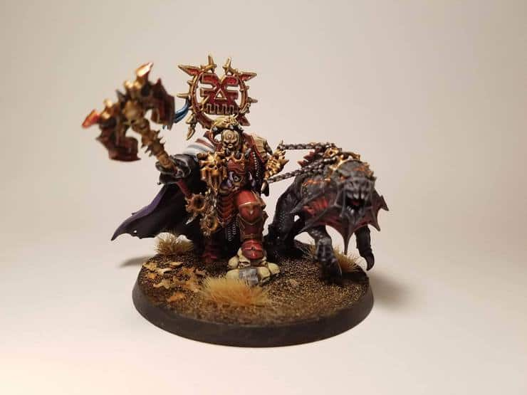 Khorne and Pup