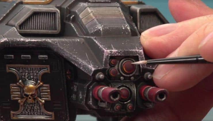how to paint corvus blackstar tutorial