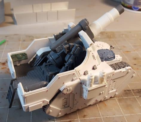 Warhammer 40k scratch built templates