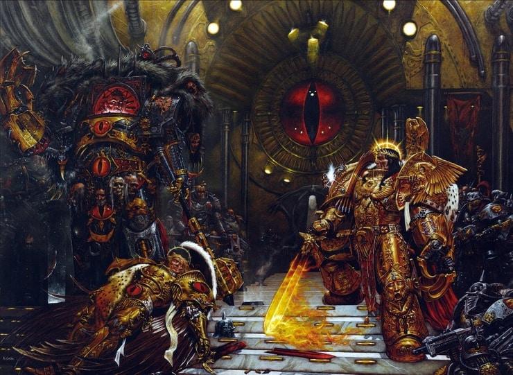 sanguinius lore