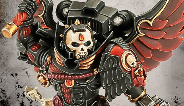 chaplain blood angels hor