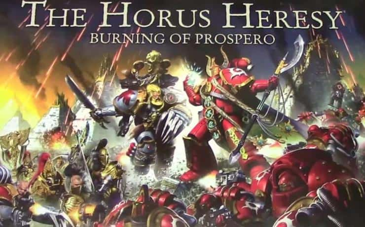 Horus heresy burning of prospero unboxed plastic